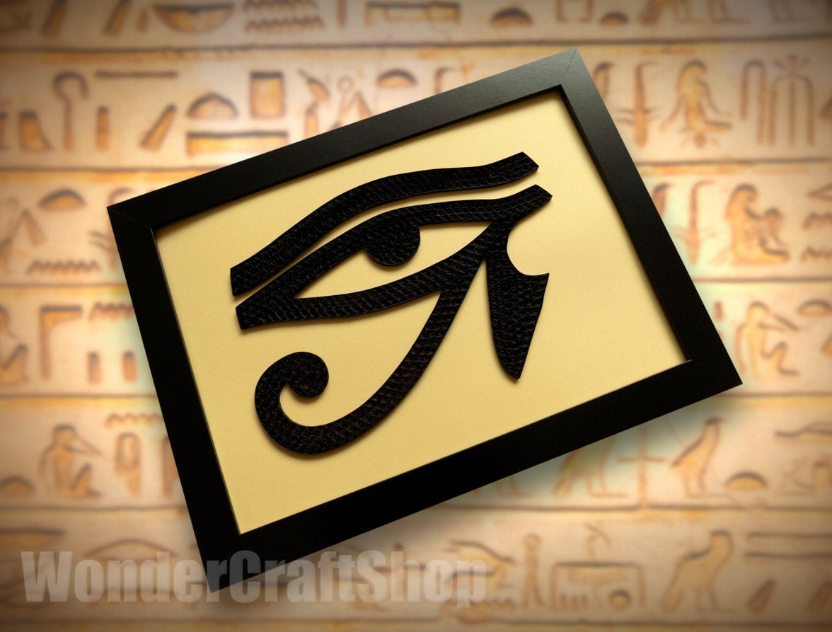 Horus Eye Eye of Ra egyptian eye home decor egyptian eye