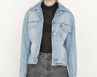 VINTAGE Blue KATHARINE HAMNETT Denim Retro Jacket