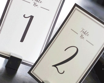 Event Table Numbers 1-50, Wedding Event Cards, Wedding Numbers