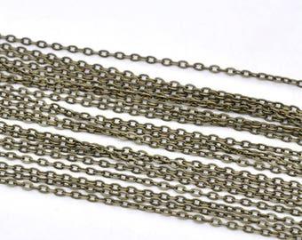 BULK - Antique Brass/Bronze Chain - 32 feet - #CH12778