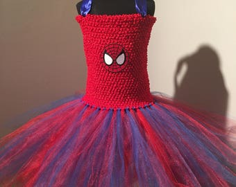 Spiderman Tutu Dress Up Costume (5Y - 7/8)