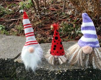 Woodland Gnome, Swedish Norwegian Tomte Nisse, Woodland Santa