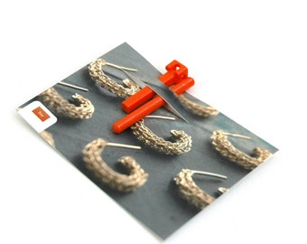 Wire crochet tool ISK invisible spool knitting starter loom EXTRA SMALL crochet hoops bangles chain wire jewelry making tool