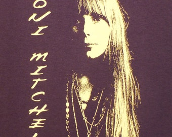 Joni Mitchell t shirt S, M,L, XL You choose size in a message