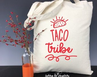 Taco Tribe - Tote Bag for Your Favorite Foodie
