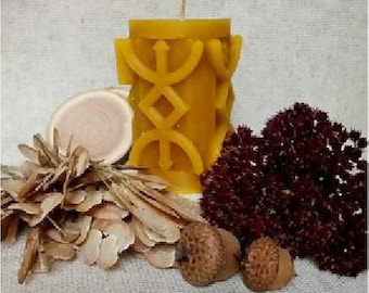 "Runic Candle ""Cleansing"""