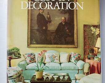 House & Garden's Best in Decoration 1987 vintage interior design coffee table book