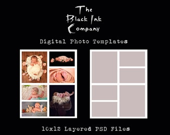 10 x 12 Collage Template #6