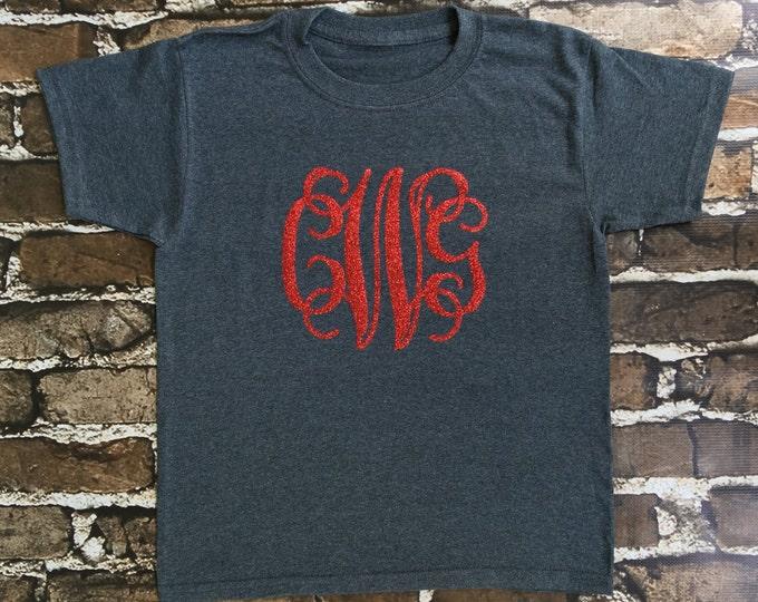 Monogram T Shirt, Monogram Shirt, Monogram tee shirts, Christmas gifts, Monogrammed Gifts, Women, Girls, Toddler