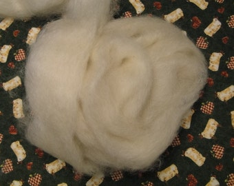 Leicester longwool is rare in the US it is great to spin