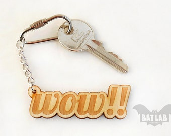 Keychain from wood, Wooden keyring, Gift for him, Handmade Keyring, Eco gift, Cool gift, Gift for her, Wooden gift, Laser Engraved Keychain