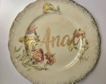 Anal - Decorative Plate