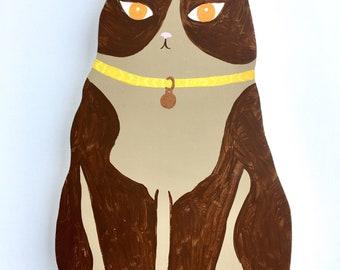 Orange-eyed Cat