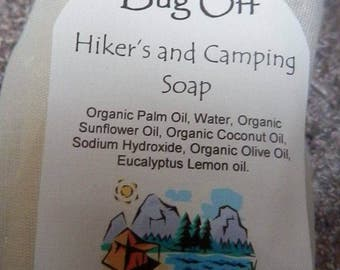 Bug Off Hiker's Soap