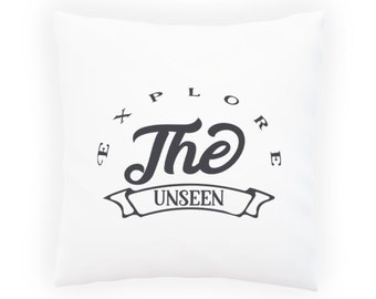 Explore the unseen Pillow Cushion Cover v994p