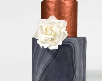"""White Rose - Medium 3"""""""