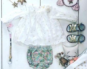 Little girl dress, Elegant Dress, Baby Dress, Celebration Dress, Girl Dress, Single Size 9 and 24 Months