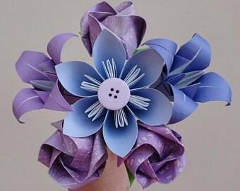 First wedding anniversary gift for wife, paper flowers, 1st anniversary gift, birthday gift girlfriend flower, valentine gift flowers