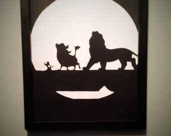 The Lion King wall art