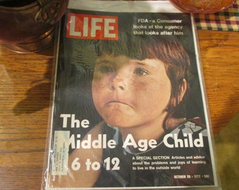 LIFE Magazine October 20th 1972 Edition