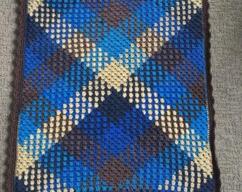 Argyle Churchill Downs Baby Blanket