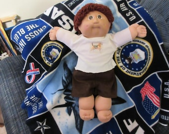 Cabbage Patch 16 inch boy doll with outfits