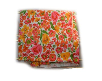 Floral Terrycloth Fabric 36 x 140