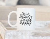 Proverbs 31 Mug, She is C...