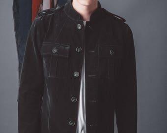 Mens Retro 1962 Velvet Jacket