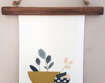 Floral print, illustration,Homeware Decor