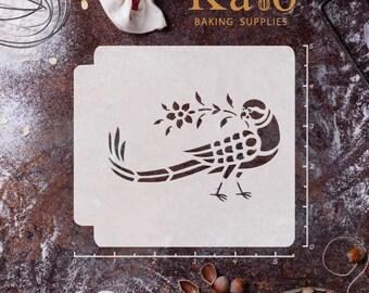 Sanjhi Bird 783-187 Stencil
