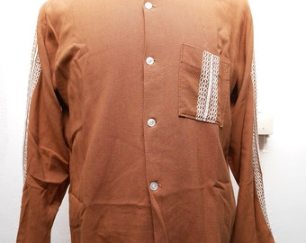 Western cowboy vintage shirt M size