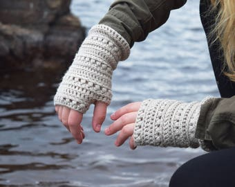 Victoriā | fingerless crochet gloves | PATTERN #51