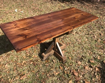 Rustic Reclaimed Wood Desk Home Bar Coffee End Night Table Top  Restaurant Farmhouse Urban Rustic Shabby Chic