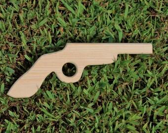 Wooden Toy Gun / Pistol