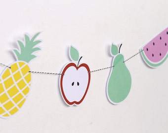 Printable Garland: Tutti Frutti