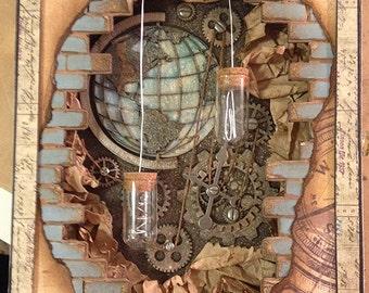 Steampunk Travel Album