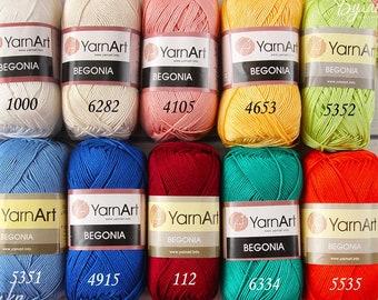 Cotton Knitting Yarn Australia : Yarnart etsy
