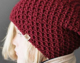 Crochet PATTERN Cumberland Slouchy Hat Crochet Slouchy Hat Pattern