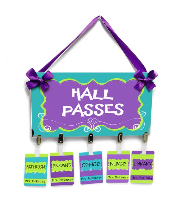 Hall Pass Classroom Idas Ponderresearch Co