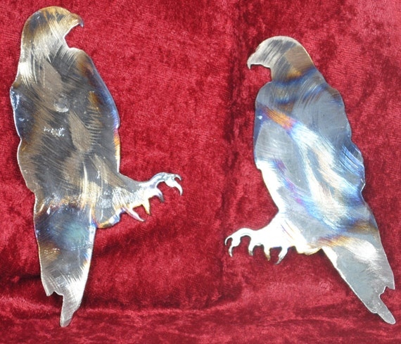 Hawk Magnet, Bird, Woodland Bird, Toolbox Magnet, Refrigerator Magnet, Nature