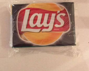 Lays Recycled Chip Bag Bi Fold Wallet