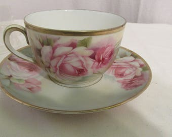 S. E. Prufsia Tea Cup and Saucer