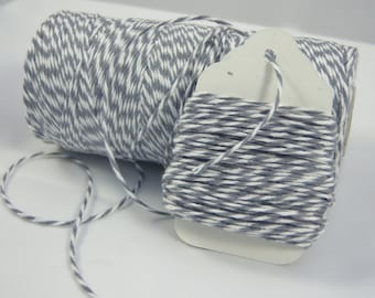FULL SPOOL - Bakers Twine - The Twinery - 100% Cotton  - Stone Grey - 240 Yards