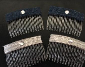4-Piece Hair Comb Set