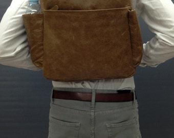 SALE! Brown Leather laptop backpack Mens backpack 15 inch laptop bag 15.6 in laptop backpack man backpack for man Backpack Travel backpack