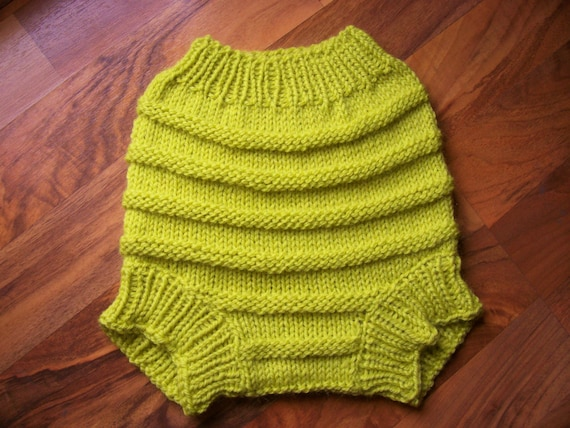 Hand Knitted Wool Cloth Diaper Cover Knit Cloth Diaper Wool