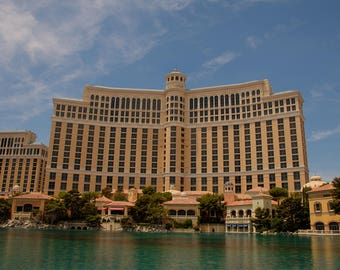 Bellagio, Las Vegas, Casino, Architecture, Photography, Print
