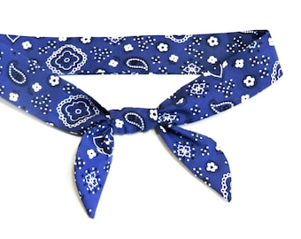 Cooling Bandana Heavy Duty Blue Neck Cooler Stay COOL Tie Wrap Body Head Heat Relief Cooling Bandana Scarf iycbrand