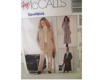 McCall's 2350 Pattern - Dress, Skirt, Pants and Jacket Pattern - Uncut